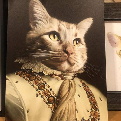 THE EXPLORER - CUSTOM CAT CANVAS (Premium)