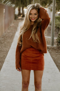 Bell Sleeved Sweater