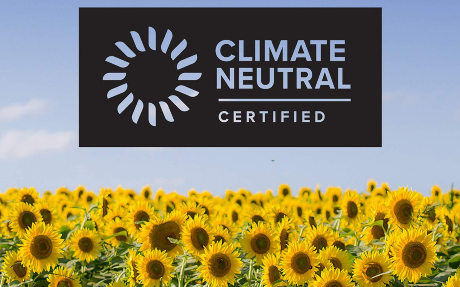 Today We are Climate Neutral Certified