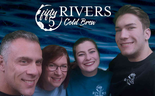 The original Fifty5 Rivers Cold Brew crew
