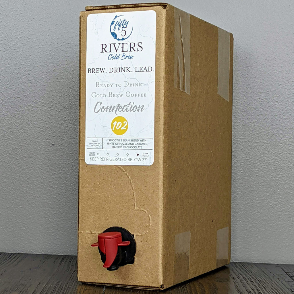 5 L Bag in Box of Cold Brew Coffee
