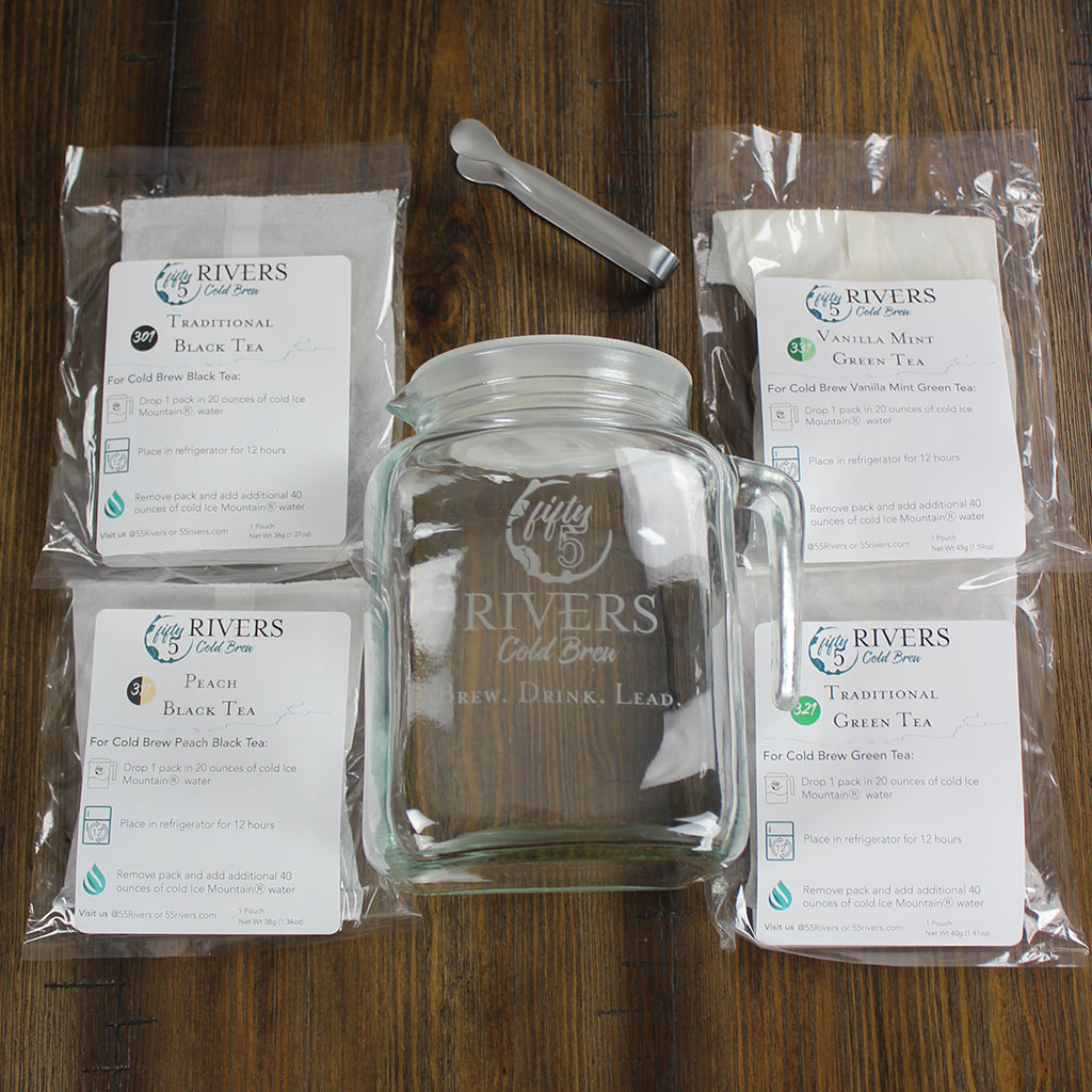 DIY Cold Brew Tea Kit