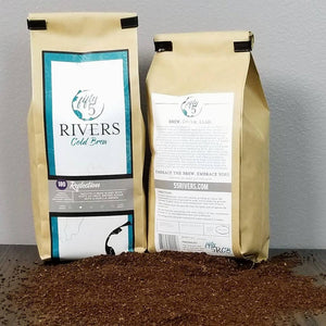 Cold brew coffee 4 bean blend - Reflection 180 coarse ground