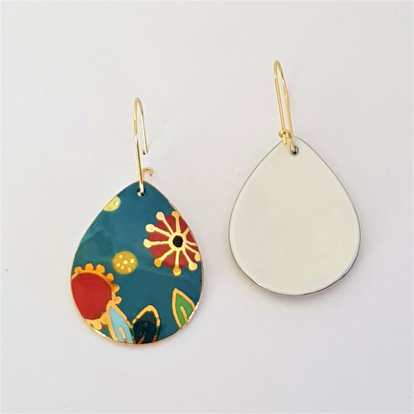 "Turquoise ""Straya"" drop earrings"
