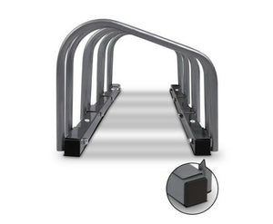 Silver Bike Stand Storage -  with Free Shipping