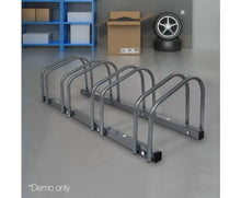 Load image into Gallery viewer, Silver Bike Stand Storage -  with Free Shipping