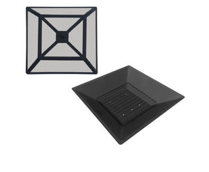 Outdoor Fire Pit and BBQ 81cm Square with Free Delivery
