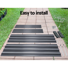 Load image into Gallery viewer, Green Fingers 150 x 90cm Galvanised Steel Garden Bed - Aliminium Grey