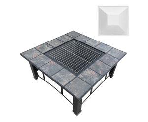 Outdoor Fire Pit 4 in 1 BBQ Grill with Ice Bucket and Lid with Free Delivery