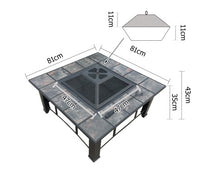 Load image into Gallery viewer, Outdoor Fire Pit 4 in 1 BBQ Grill with Ice Bucket and Lid with Free Delivery