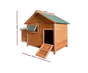 Deluxe Chicken Coop with Free Delivery