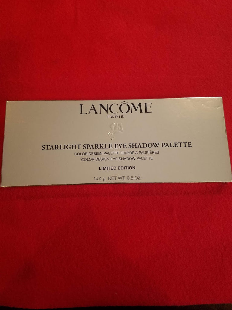 Lancome Paris Starlight Sparkle Eyeshadow Palette ❤️ Color Design Palette - I Have Cosmetics