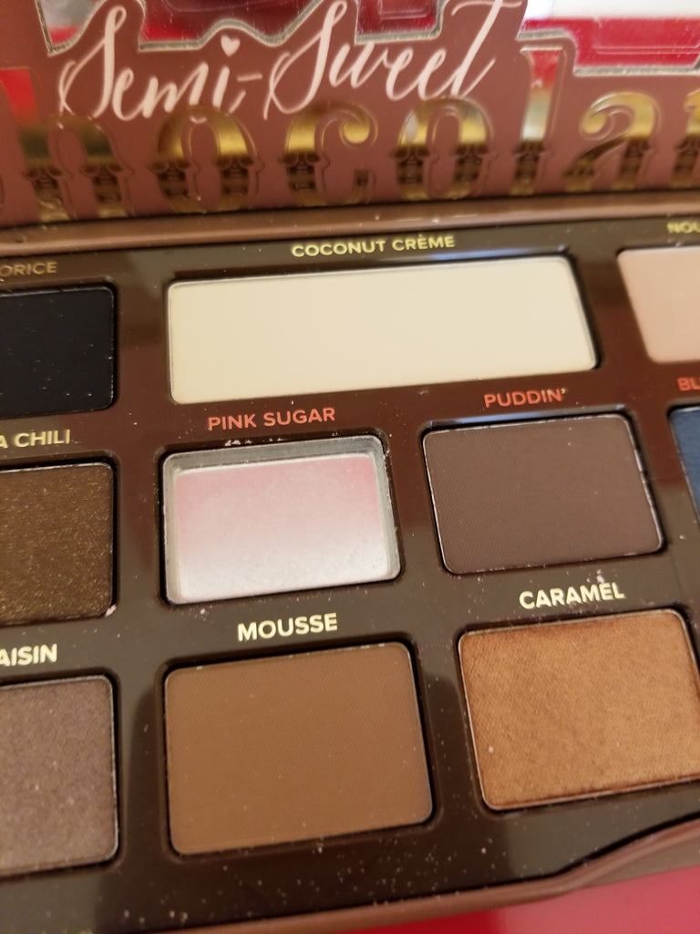Too Faced Semi Sweet Chocolate Bar - DAMAGED SEE PHOTO - I Have Cosmetics