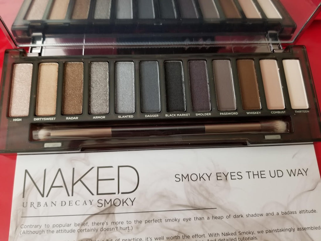 Urban Decay Naked Smoky Palette ❤️ Authentic - I Have Cosmetics