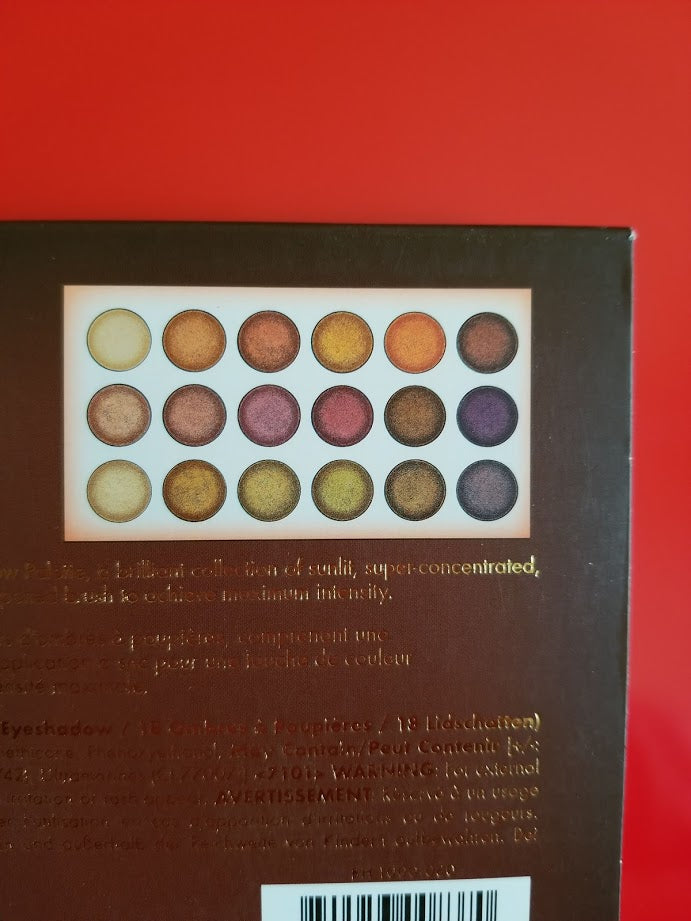 BH Cosmetics Solar Flare - 18 Color Baked Eyeshadow Palette ❤️ Authentic - I Have Cosmetics