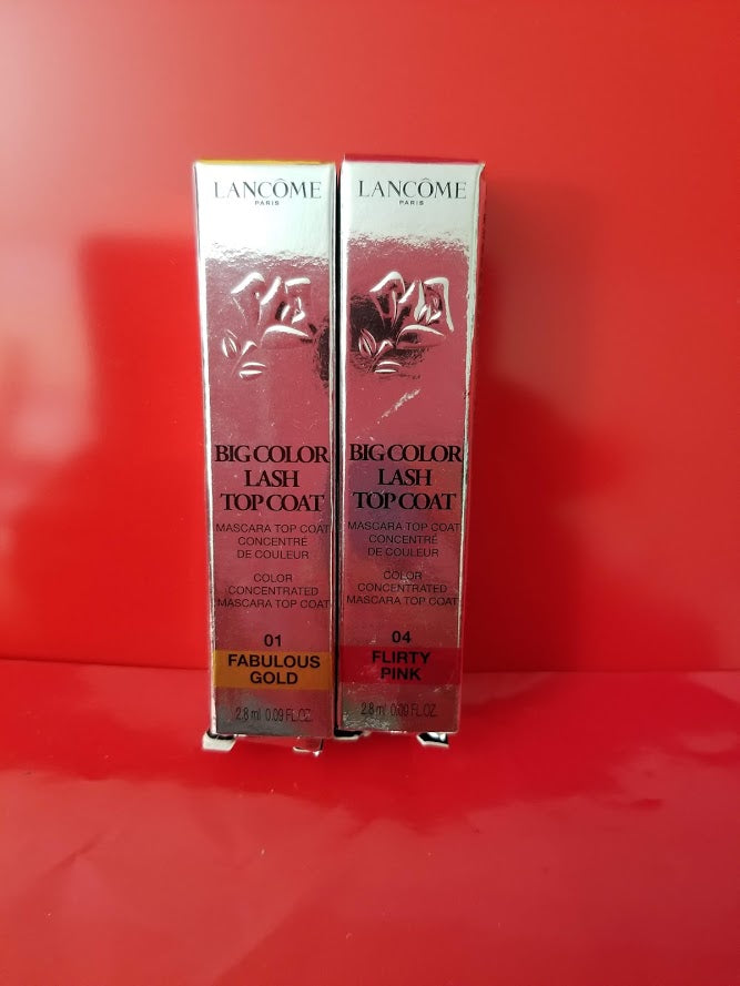Lancome Big Color Lash Top Coat ❤️ 100% Authentic - I Have Cosmetics