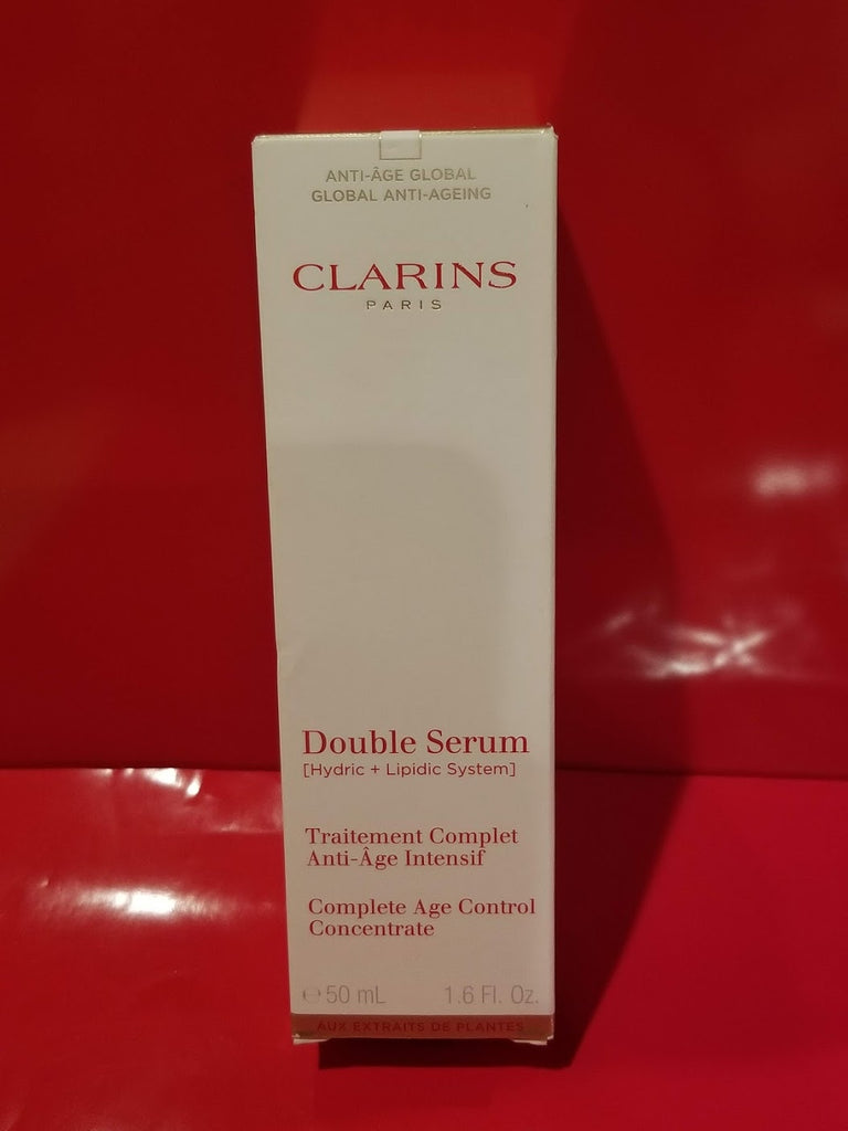 Clarins Paris Double Serum - Complete Age Control - 1.6 fl oz. ❤️ Authentic - I Have Cosmetics