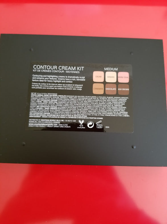 Anastasia Beverly Hills  Contour Kit Cream Contour Kit Palette MEDIUM ❤️ Authentic - I Have Cosmetics