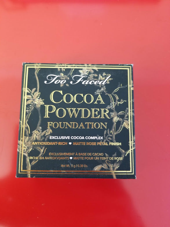 TOO FACED Cocoa Powder Foundation ❤️ TAN or DEEP TAN ❤️ Authentic - I Have Cosmetics
