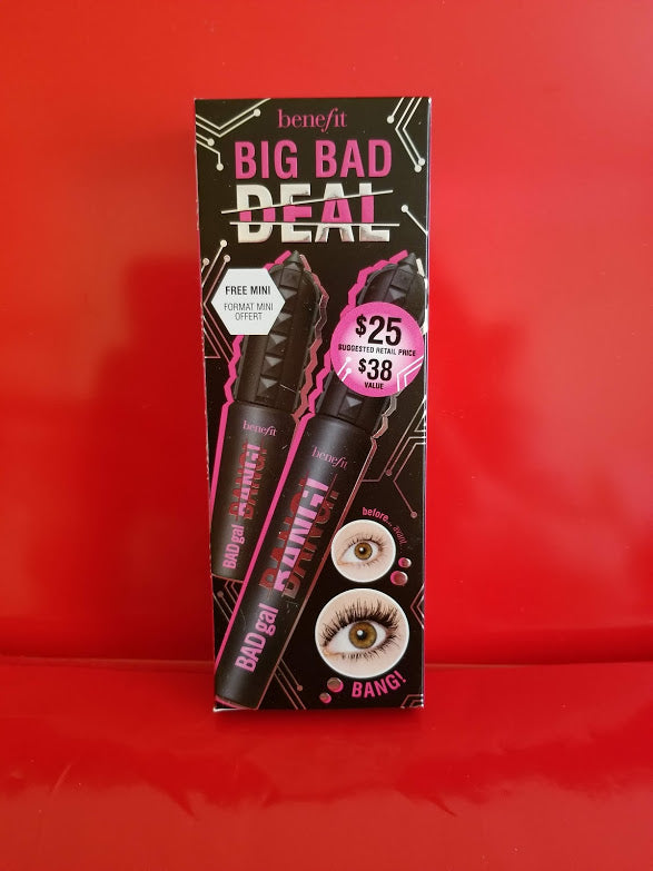 Benefit Big Bad Deal Bang Mascara with FREE Mini ❤️ 100% Authentic - I Have Cosmetics