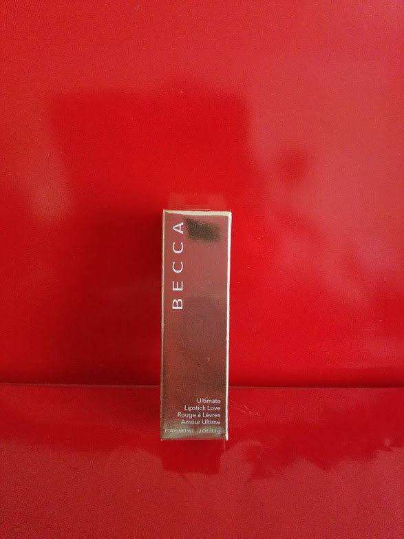 BECCA Ultimate Lipstick Love ❤️ W - CRIMSON ❤️ 100% Authentic - I Have Cosmetics