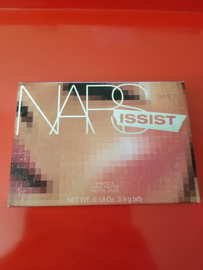 NARSissist Cheek Palette ❤️ WANTED II #8492 ❤️ 100% Authentic