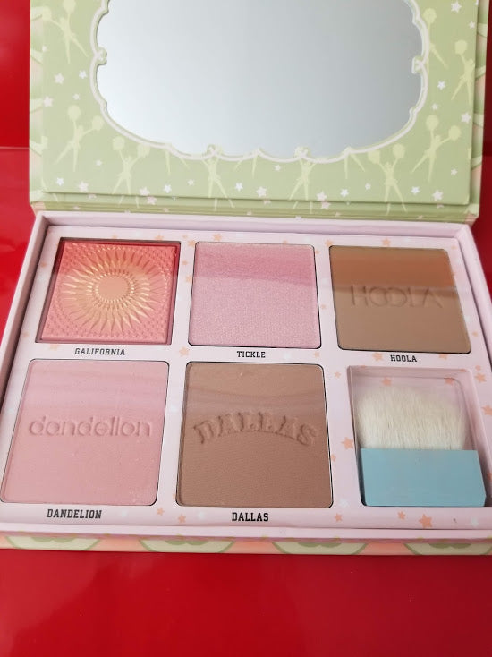 BENEFIT COSMETICS Cheekleaders PINK SQUAD Cheek Palette ❤️ Authentic - I Have Cosmetics