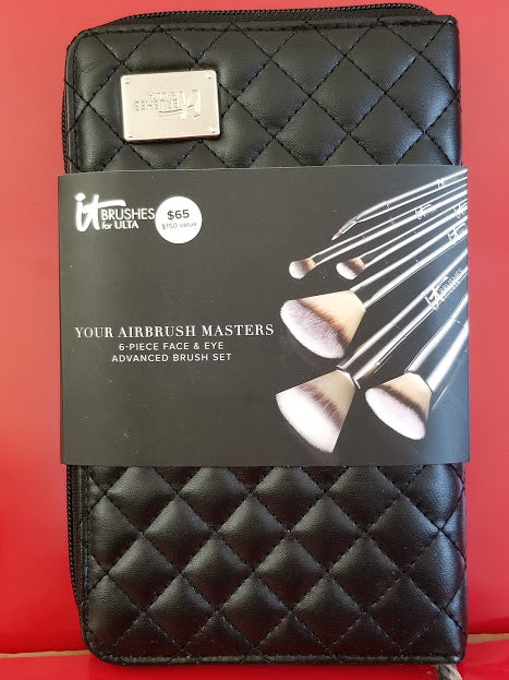 IT Cosmetics Your Airbrush Masters - 6 Piece Brush Set ❤️ Authentic - I Have Cosmetics