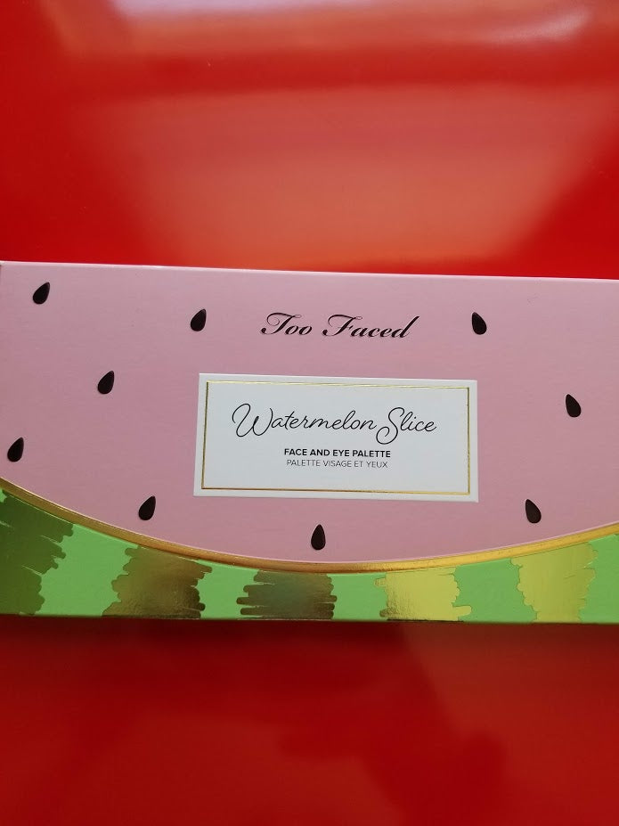 Too Faced Watermelon Slice Face & Eye Palette ❤️ Authentic - I Have Cosmetics