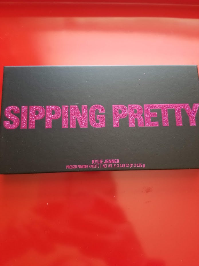 Kylie Jenner Birthday 2018 SIPPING PRETTY Pressed Powder Palette ❤️ Authentic - I Have Cosmetics