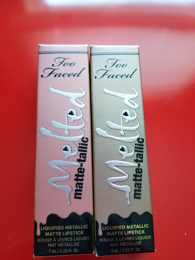 Too Faced Melted Liquified Metallic Matte Lipstick ❤️ PICK YOUR SHADE ❤️ Authentic - I Have Cosmetics