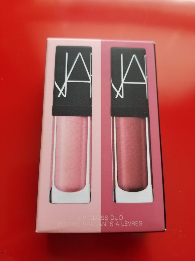 Nars MINI Lip Gloss Duo Turkish Delight & Mythic Red ❤️ 1362 ❤️ Authentic - I Have Cosmetics