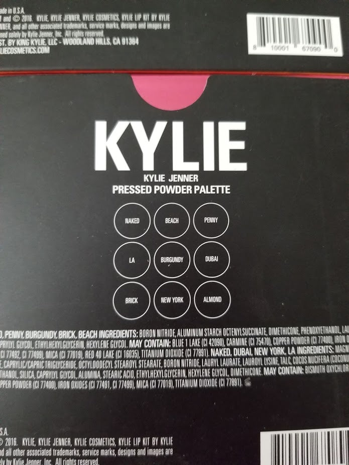 Kylie Jenner Pressed Powder Palette ❤️ Authentic - I Have Cosmetics