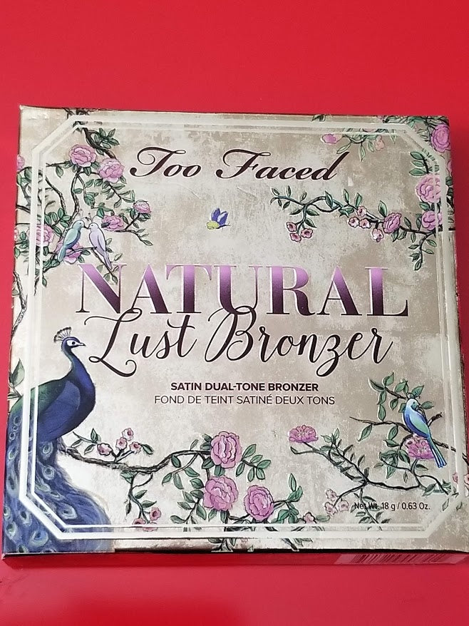 Too Faced Natural Lust Bronzer ❤️ Authentic