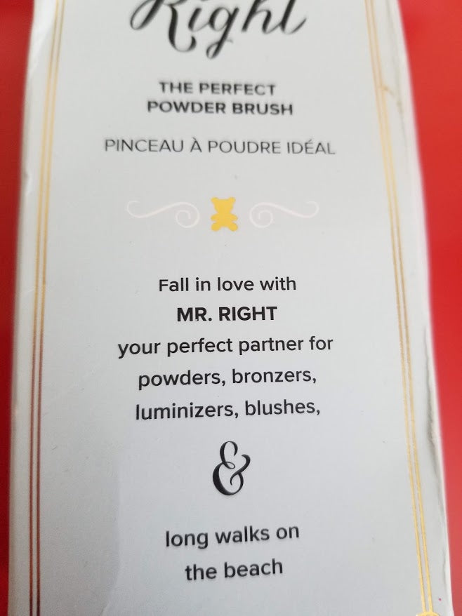 Too Faced Mr Right The Perfect Powder Brush ❤️ Authentic - I Have Cosmetics