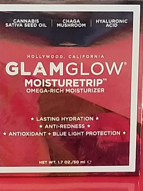 GLAMGLOW MOISTURETRIP Omega-Rich Face Moisturizer ❤️ Authentic - I Have Cosmetics