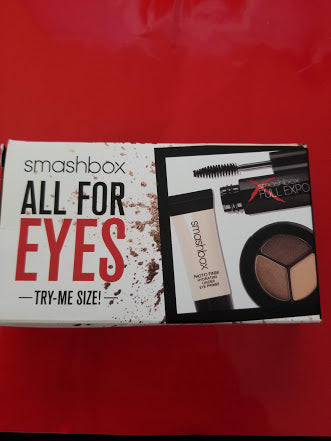 Smashbox All For Eyes - Try Me Size ❤️ CHOCOLATE BROWN SMOKEY EYE