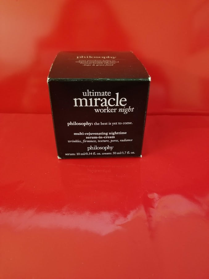 Philosophy Ultimate Miracle Worker Night - 1.7 fl oz - Authentic - I Have Cosmetics