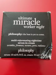 Philosophy Ultimate Miracle Worker Night - 1.7 fl oz - Box Fair Condition - I Have Cosmetics
