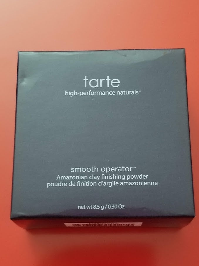 Tarte Smooth Operator Amazonian Clay Pressed Finishing Powder - Authentic - I Have Cosmetics