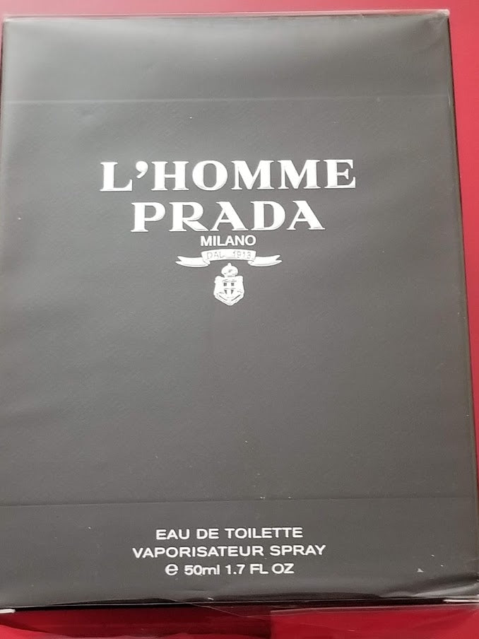 Prada l'homme Eau De Toilette 1.7 fl oz - Authentic - I Have Cosmetics