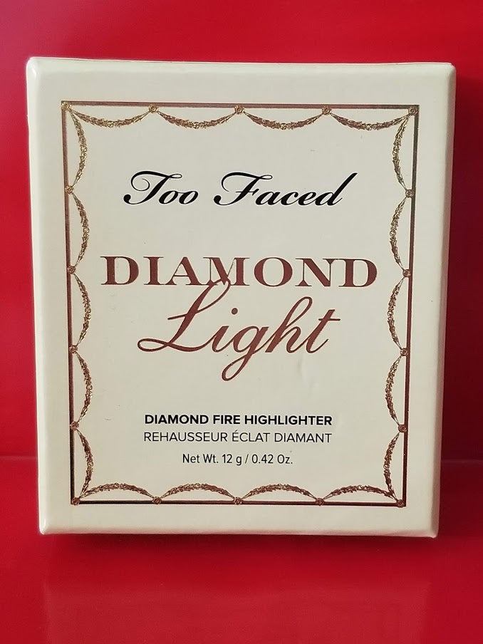 Too Faced DIAMOND LIGHT Canary Diamond Fire Highlighter - Authentic - I Have Cosmetics
