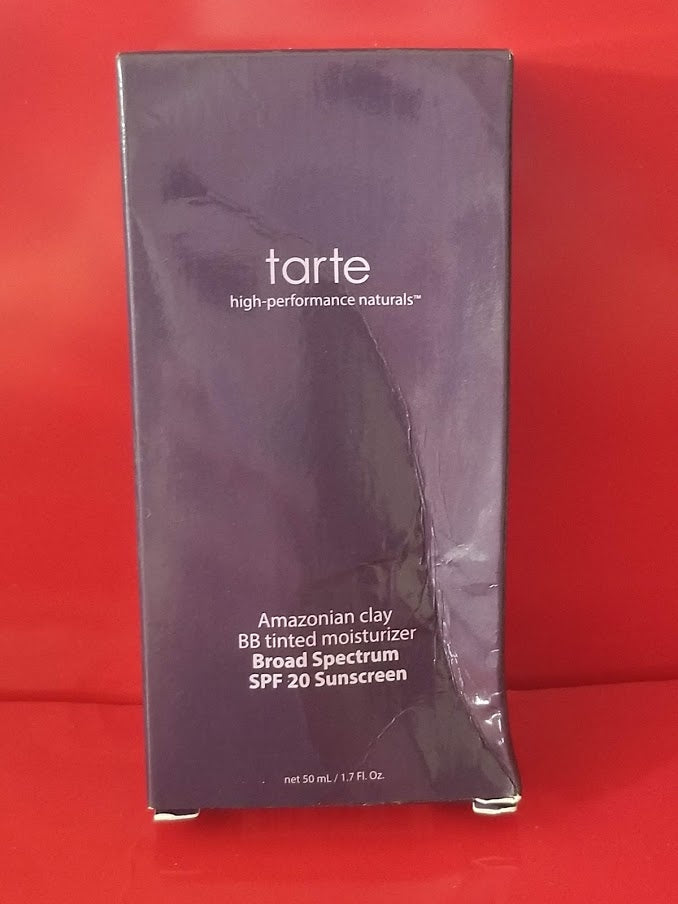 Tarte Amazonian Clay BB Tinted Moisturizer - MEDIUM - BOX IN FAIR CONDITION - I Have Cosmetics