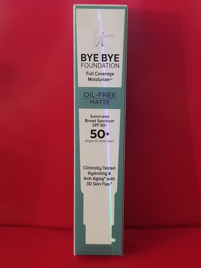 IT Cosmetics BYE BYE FOUNDATION Oil Free Matte ❤️ Medium ❤️ - I Have Cosmetics