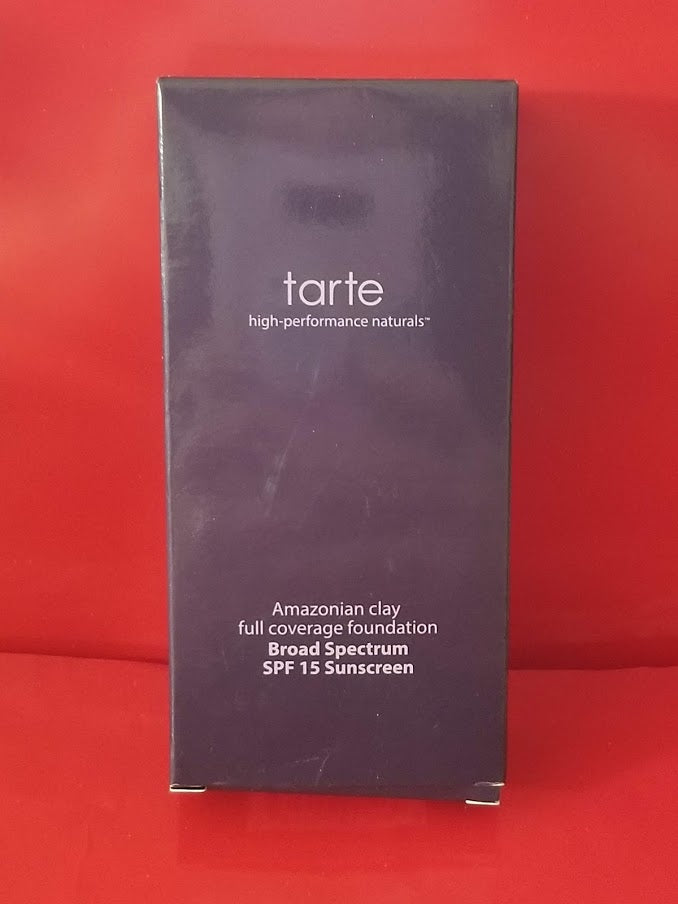 Tarte 12hour Full Coverage Foundation - 27S - Light Medium Sand - I Have Cosmetics