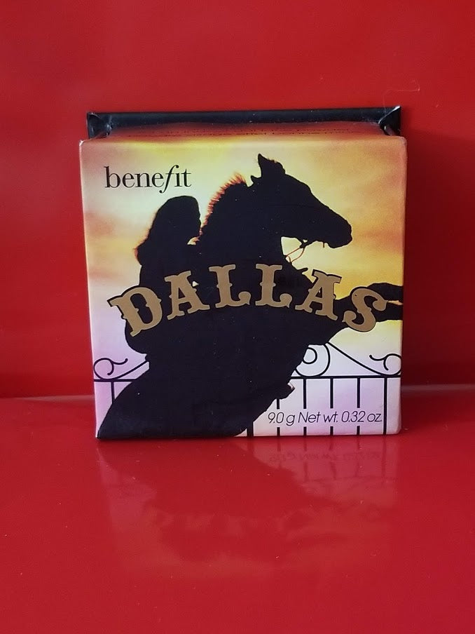 BENEFIT COSMETICS Dallas Box O' Powder Blush .32 oz ❤️ 100% Authentic - I Have Cosmetics
