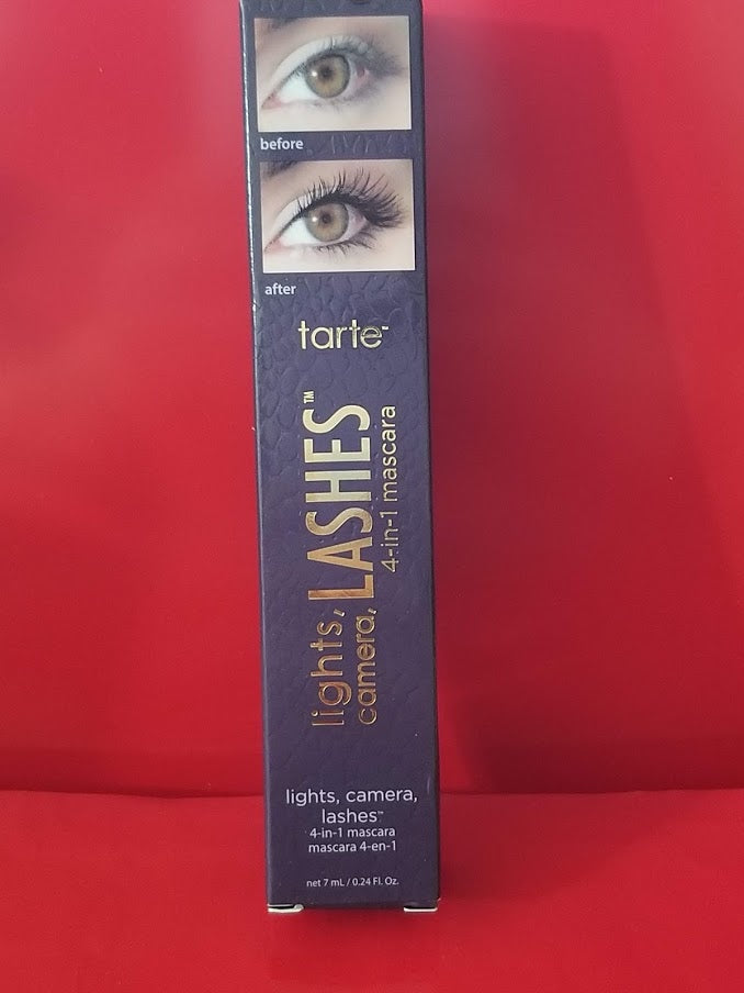 Tarte LIGHTS CAMERA LASHES 4 in 1 Mascara ❤️ BLACK ❤️ - I Have Cosmetics