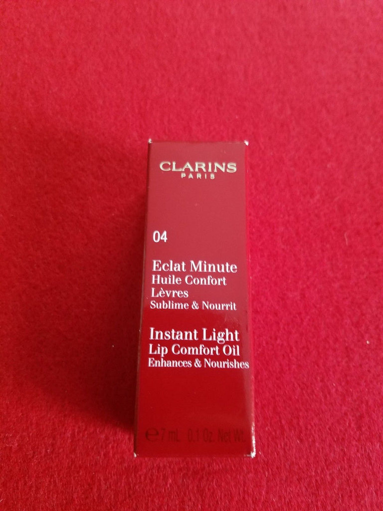 Clarins Paris Instant Light Lip Comfort Oil ❤️ Shade 04 CANDY ❤️ 100% Authentic - I Have Cosmetics