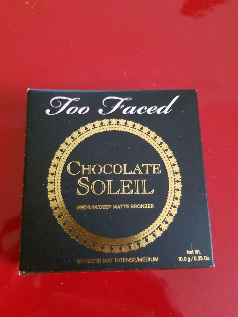 Too Faced Chocolate Soleil Bronzer - Brand New in Box - I Have Cosmetics