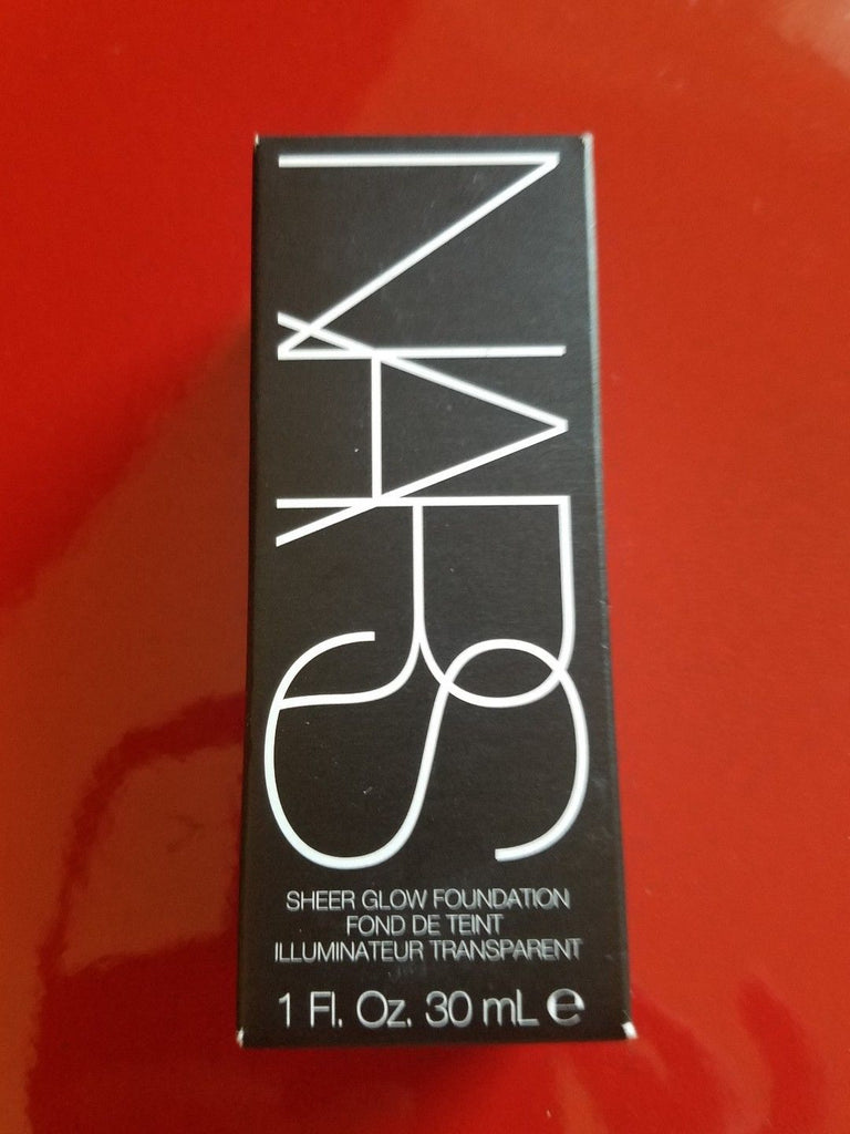 Nars Sheer Glow Foundation - Pick Your Shade - Authentic - Brand New in Box - I Have Cosmetics